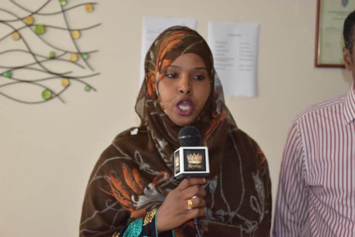 Fahmo Arale of Somali mothers in Birmingham
