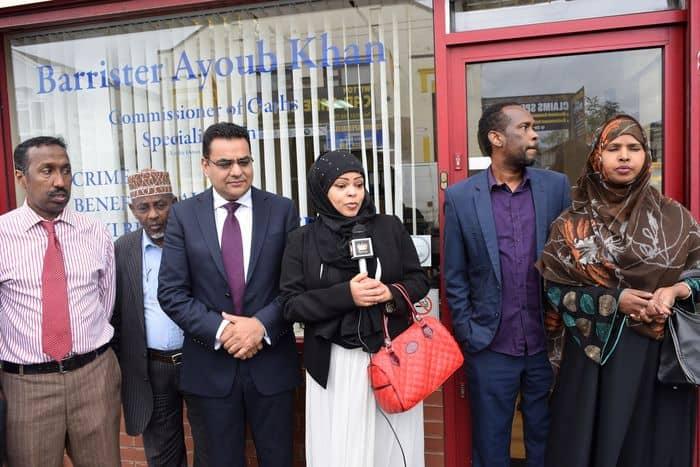 Hoda Hashi of Somali mothers in Birmingham