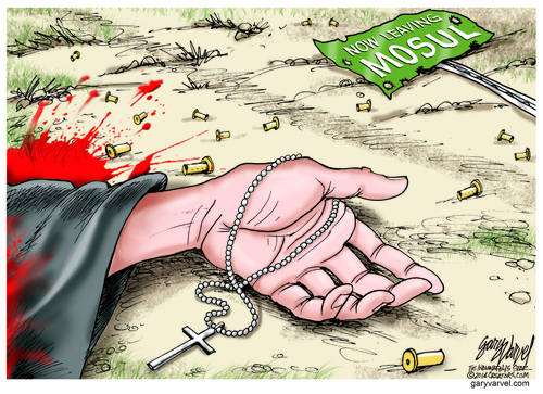 ISIS Islamists Threaten To Kill Christians In Mosul If They Stay And Do Not Convert To Islam