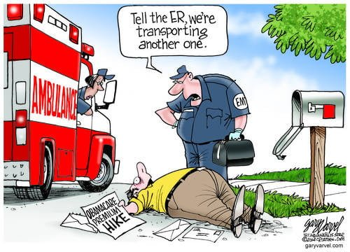 Secret Obamacare Plan To Reduce The Number Of High Risk People Rolls Out In Ambulances