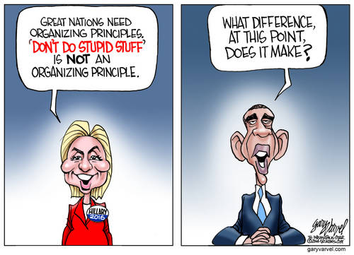 Hillary Clinton and Barack Obama Trade Their Talking Points Without Realizing