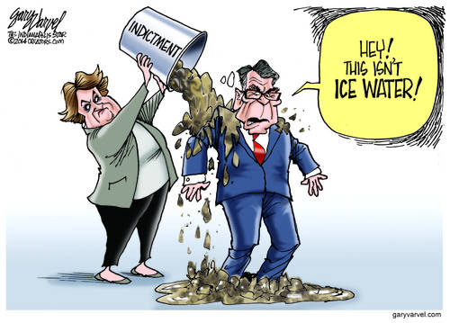 Governor Perry Discovers Ice Bucket Silliness Has Gone Too Far
