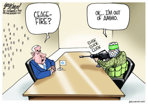 Hamas Agrees To A Ceasefire, But Only Because They Ran Out Of Ammo