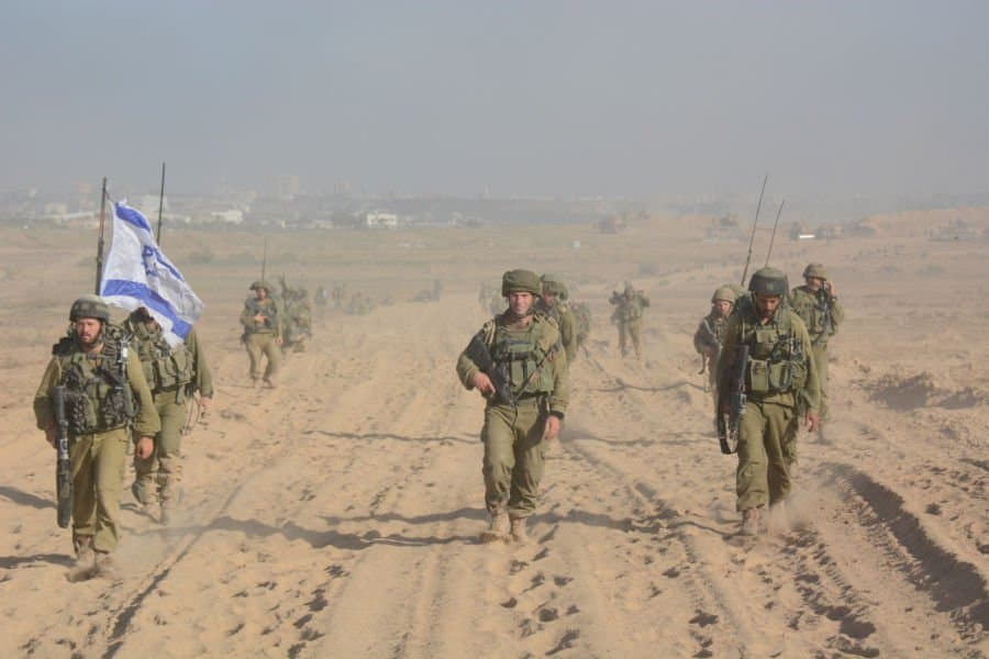 Infantry forces return to Israel