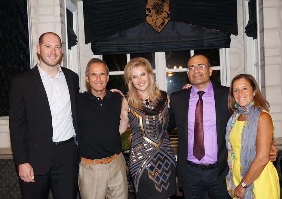 From R Gail Reiss President and CEO professor Uzi Rabi Sonya and Howard Waldow David Dorfman Associate Director Photo Orly Halevy