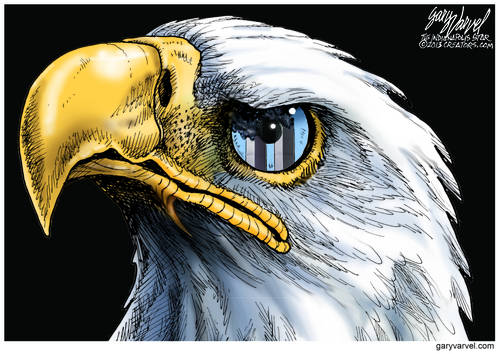 The American Eagle Is Still Watching, Has Not Forgotten The Twin Towers
