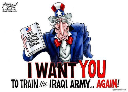 Uncle Sam Needs You Again, Because He Screwed Up The Iraq Withdrawal