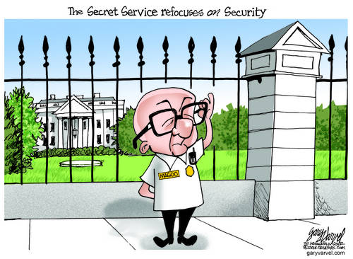 Mister Magoo, White House Secret Service Chief, Refocuses On Security