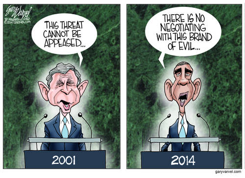 After Six Years, Obama Turns Into Bush, With The Same Speech Writer