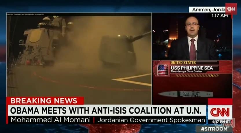 jordan bombs isis