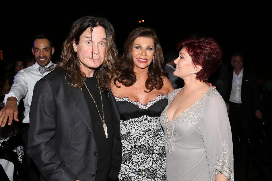 rom L Ozzy Osbourne Linell Shapiro Sharon Osbourne Photo Orly Halevy