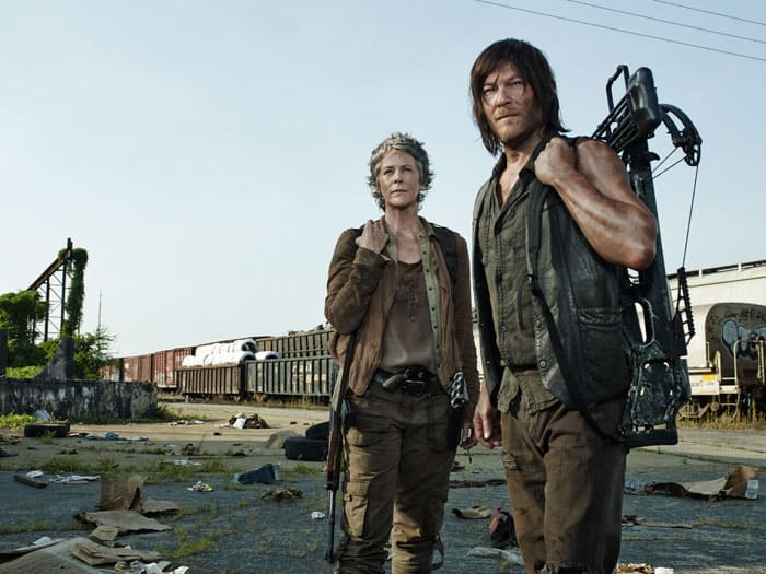 The Walking Dead, Carol and Darryl