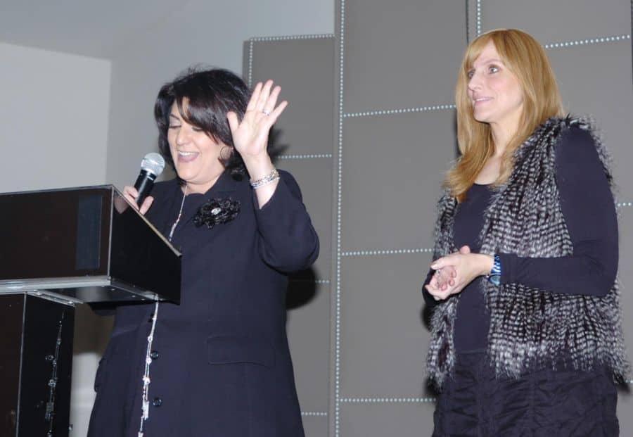 L Karen Halaszi and Mia Adler Ozair