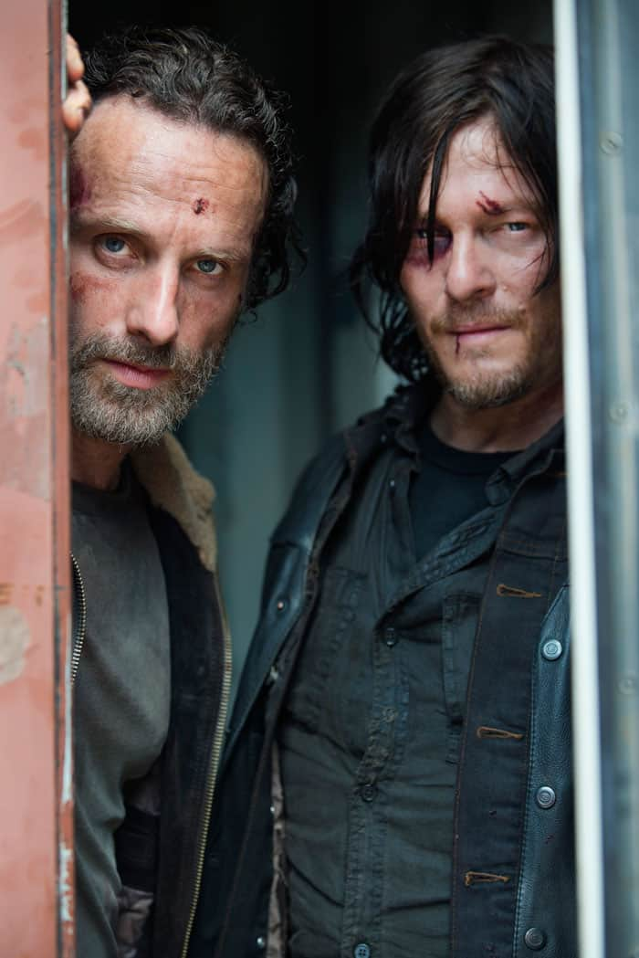 The Walking Dead, Rick and Darryl