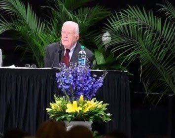 jimmy carter speaks about isis