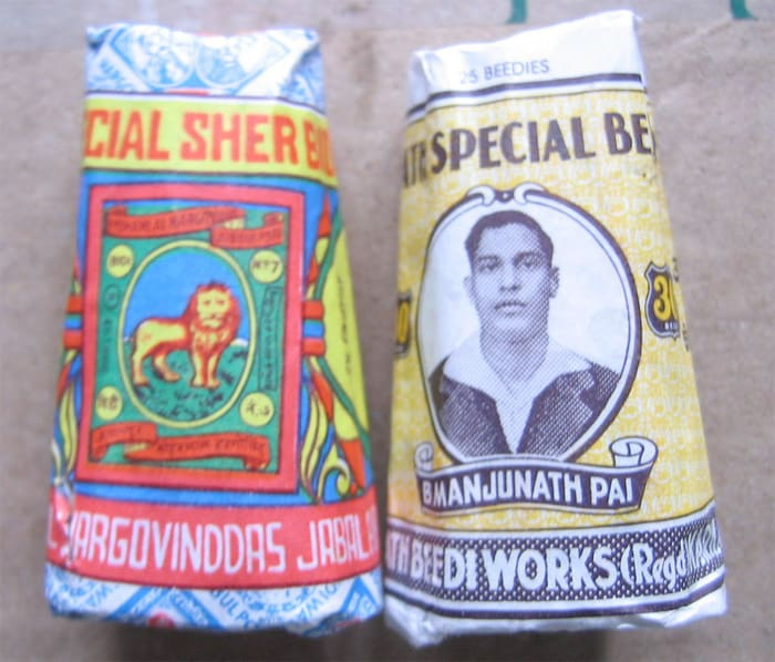 packs of beedis