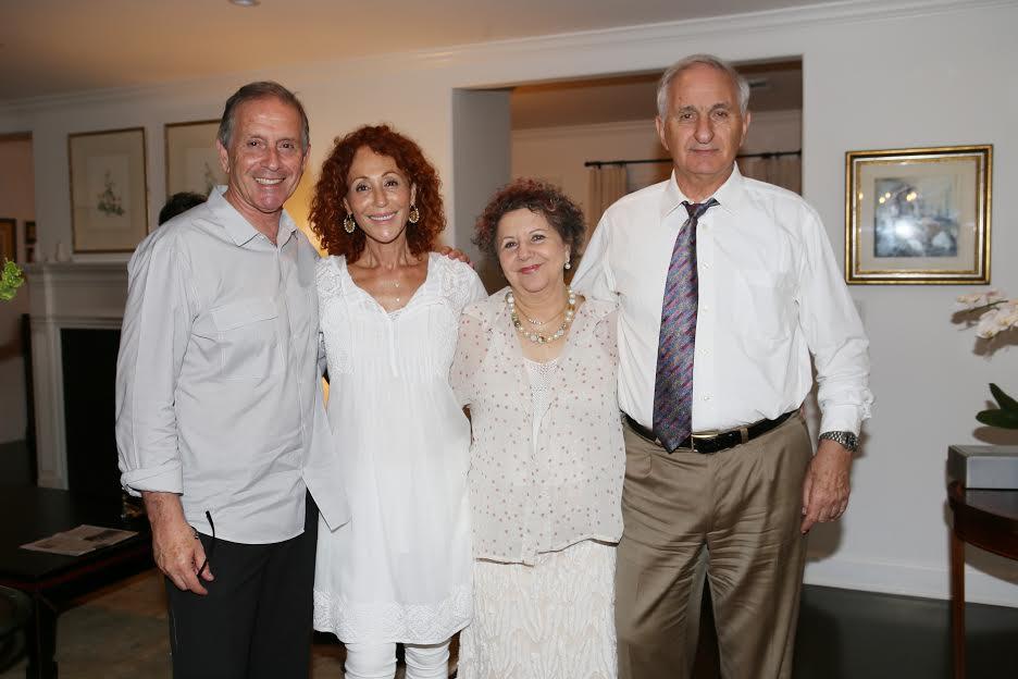 R Giora and Miriam Romm Batay and Dr. Uri Elkayam Photo Orly Halevy