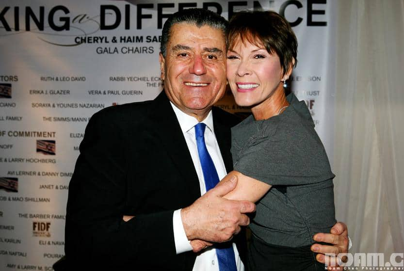 Cheryl and Haim Saban Photo: Noam Chen