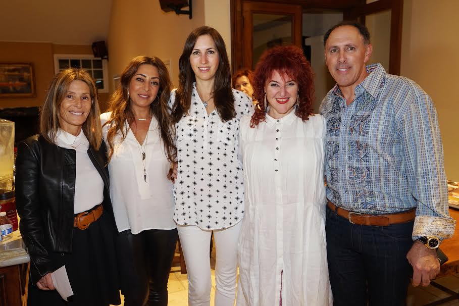 Shanti House From L Sary Yogev Yael Rahamim Westlake Village event host Keren Yona Mariuma Westlake Village event host Tal Yona Photo Orly Halevy
