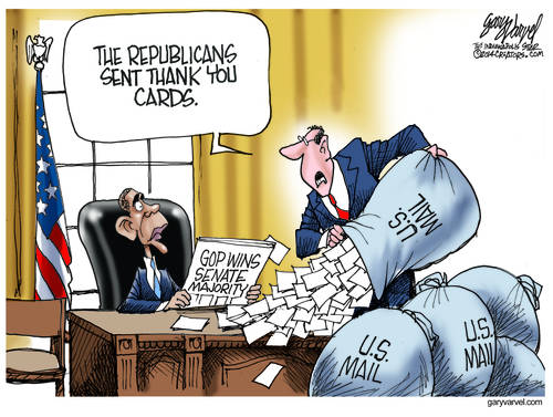 Editorial Cartoons by Gary Varvel - gv2014141105dAPC - 05 November 2014