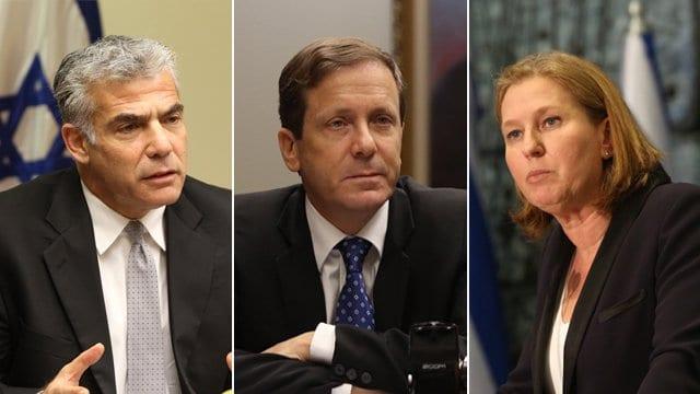 From L Lapid Herzog Livni