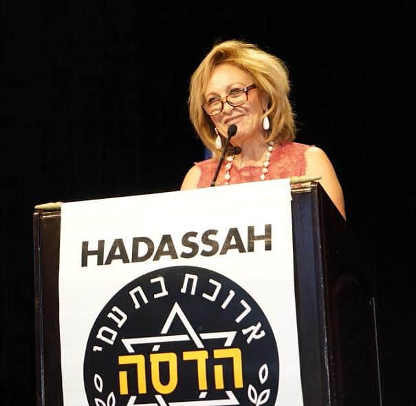 Lila Barkhordarian member of the Board of Directors emceed the event Photo by Orly Halevy