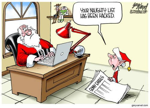 Is Nothing Sacred? Santas Naughty List Hacked