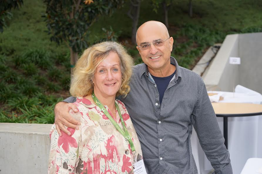With Dr. Yoav Nissan Cohen of Zulla Vision Photo Orly Halevy October 2014