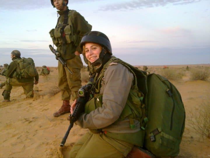 Yonat Daskal the medic fighter. Photo c/o Yonat Daskal.