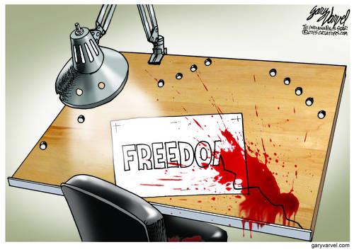 Islamic Terrorists Attack Freedom Of Speech In Paris