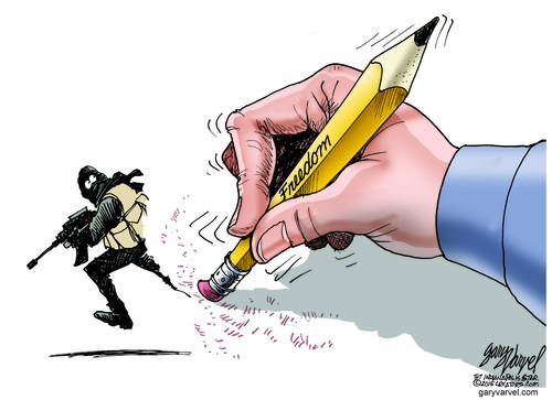 Editorial Cartoons by Gary Varvel - gv2015150109dAPC - 09 January 2015