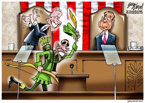 Half Of Congress Welcomes Robin Hood, Preferring To Take Rather Than Build