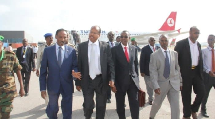 ministers arrive in somalia
