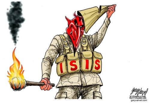 Editorial Cartoons by Gary Varvel - gv2015150205dAPC - 05 February 2015
