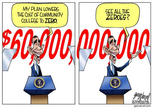 Zero Cost Community College Plan Is A Winner, Just Like Obamacare