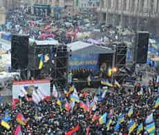 Ceasefire in Ukrainian crisis and pro-russia separatists.