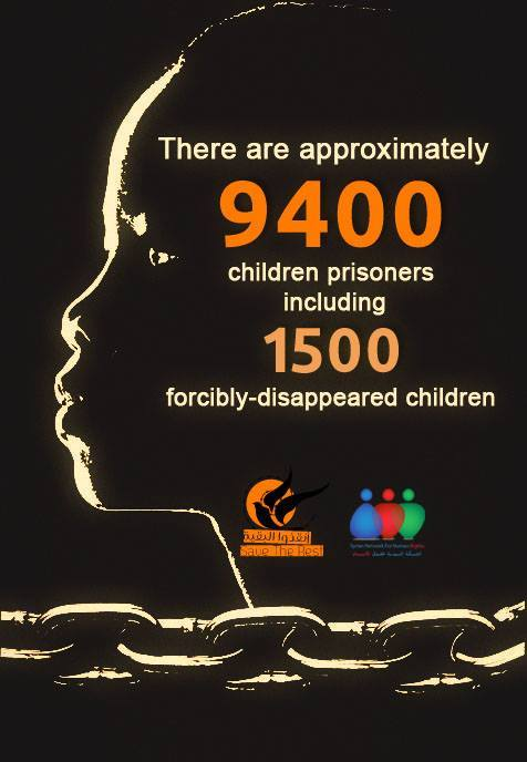 Syria 9400 Children Detained