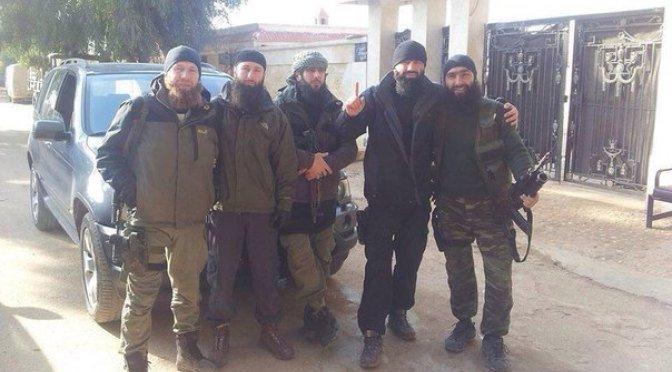 Syria Isis ChecheninSyria