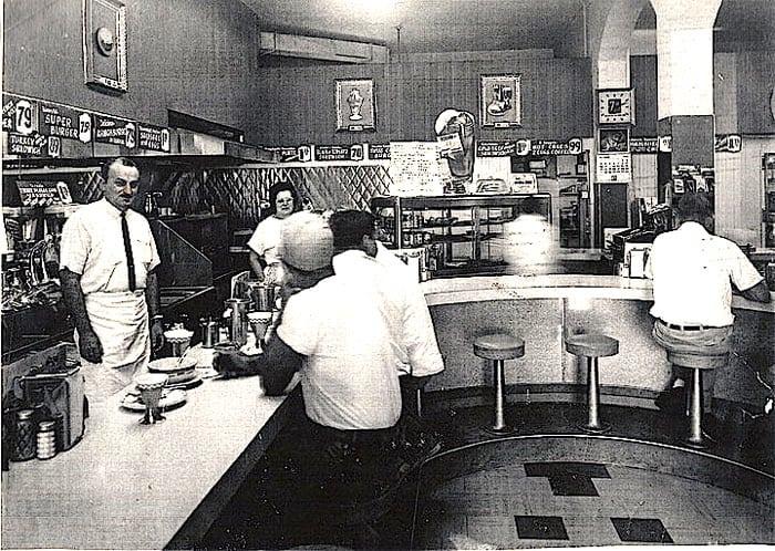 Rocci Curci in the Soda Shop