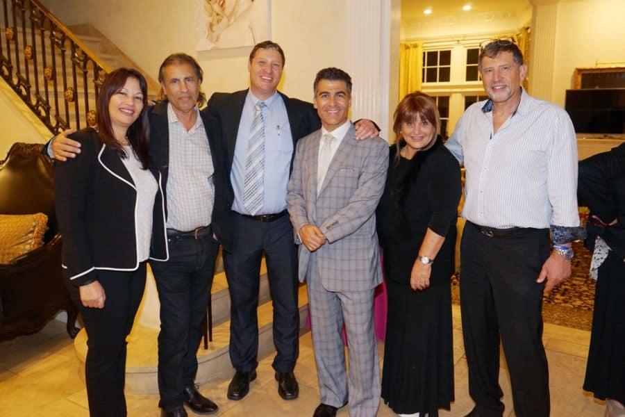 L Edva Shafir Guest Eli Malahi Eli Shafir Gal Ben Naim guest Genia Nati Saudof of IAC Photo Orly Halevy