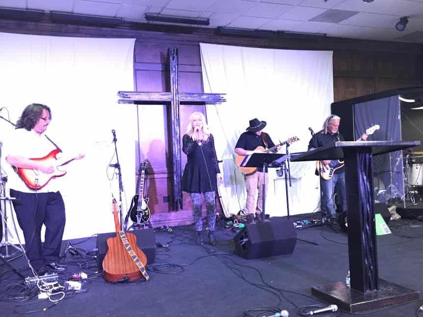 Lev Shilo band lead singer Cory Bell