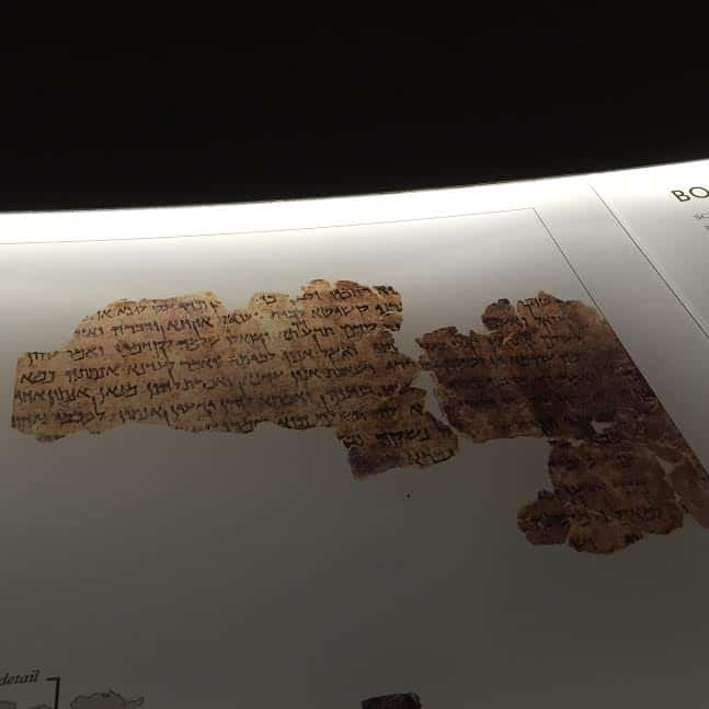 Scrolls fragment