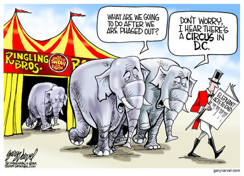 One Circus May Shut Down, But There Is Always The 24/7 Circus In D.C.