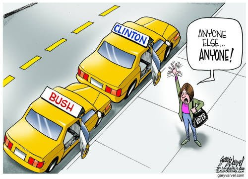 Voters Know They Will Be Taken For A Ride, But By Them?