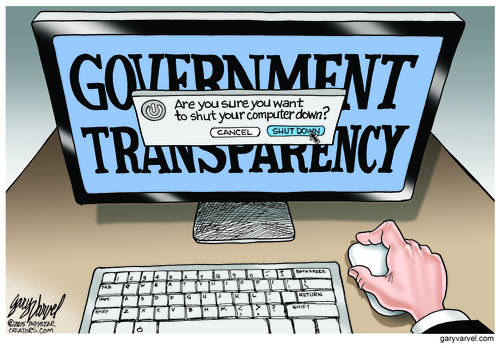 The Most Opaque Administration Ever? What About Promises Of Transparency?