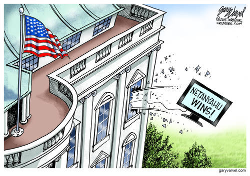 Looks Like Temper Tantrums At The White House Over Netanyahu Recovery