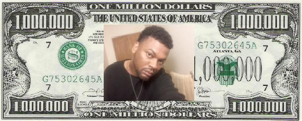 one million dollar bill 1 000 000
