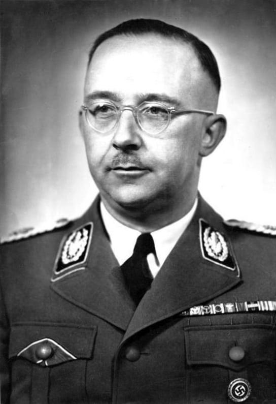 Holocaust Mass murderer Heinrich Himmler