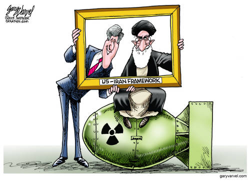 Kerry And The Ayatollah Snap A Selfie In The Framework. Both Happy