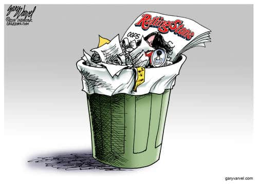 Rolling Stone Ends Up In The Trash Can After Journalistic Screwup